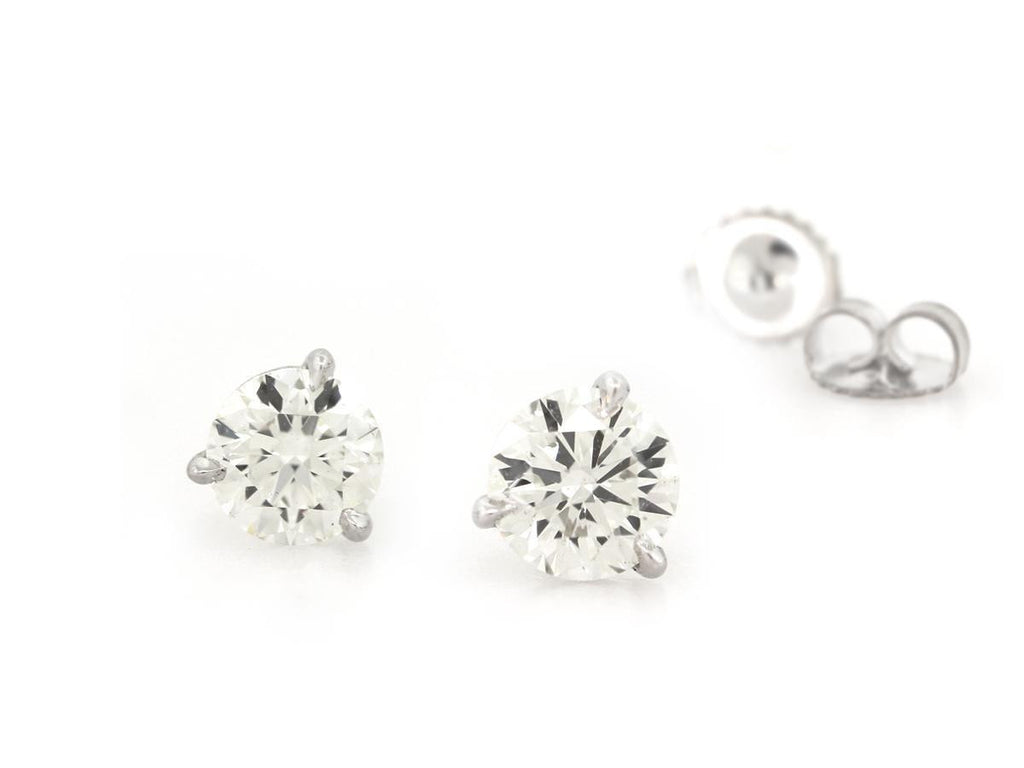 1.00cts Diamond Earrings