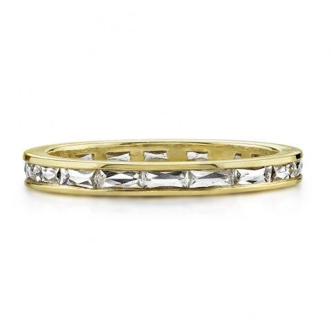 'Emma' French Cut Baguette Eternity Band