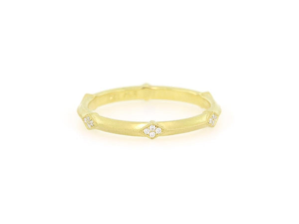 'Lily' Geometric Diamond Eternity Band