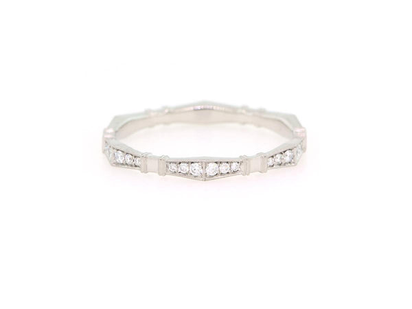 'Imogen' Diamond Platinum Eternity Band