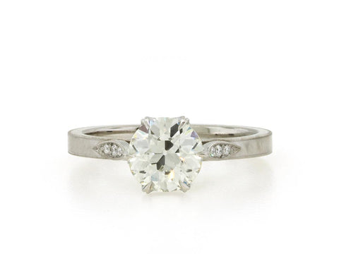 1.36ct Old European Diamond Grace Solitaire