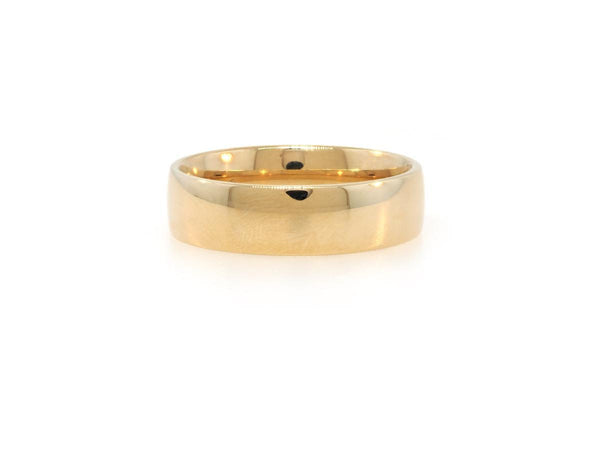 6mm Low Dome Men's Band