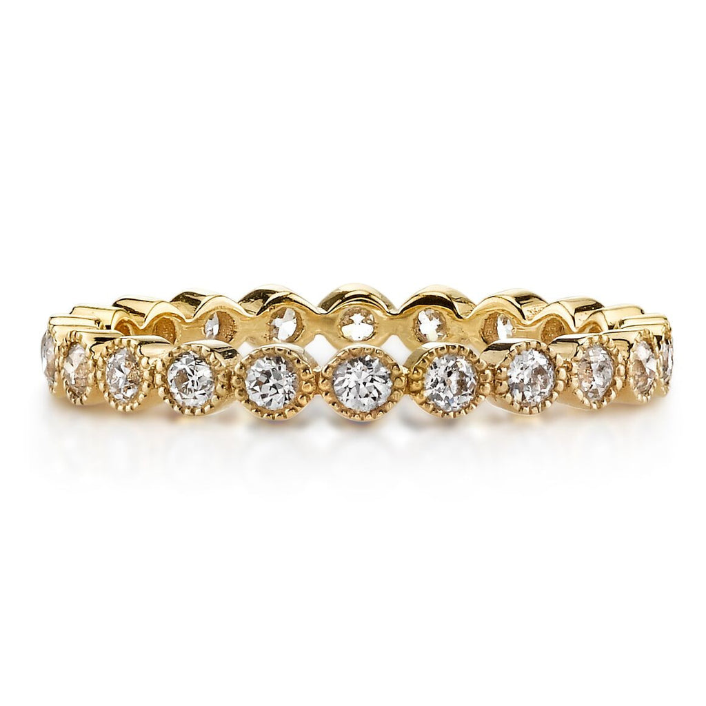 Bezel Diamond Eternity Gabby Band