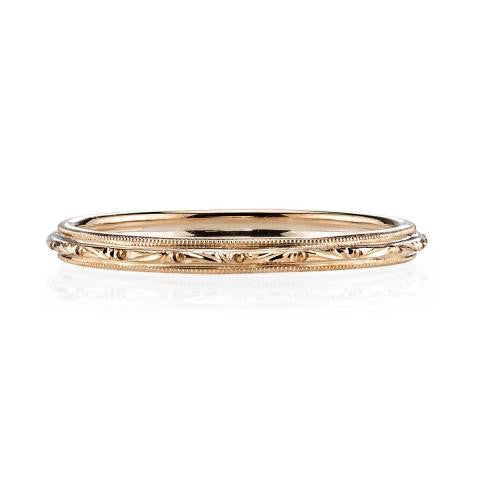 'Lucy' engraved band