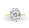 Oval Ollusion Diamond Ring