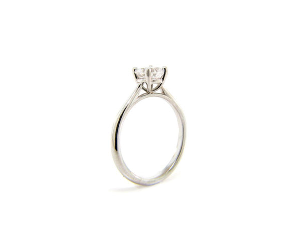 Flush Fit 4-Prong Setting (Up To 1 Carat Diamond Center)