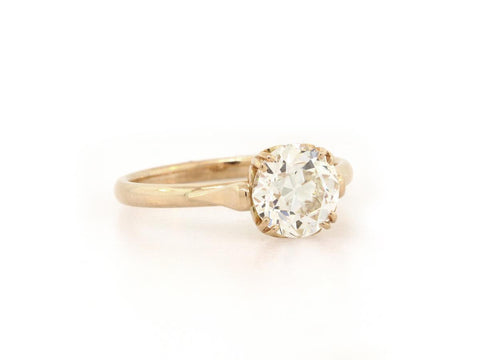 'Sydnee' 1.48ct Antique Inspired Old European Cut Diamond Engagement Ring