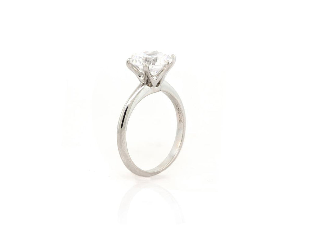 Platinum Classic 6 Prong Ring