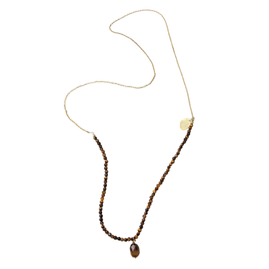 Gem Tiger Eye Necklace