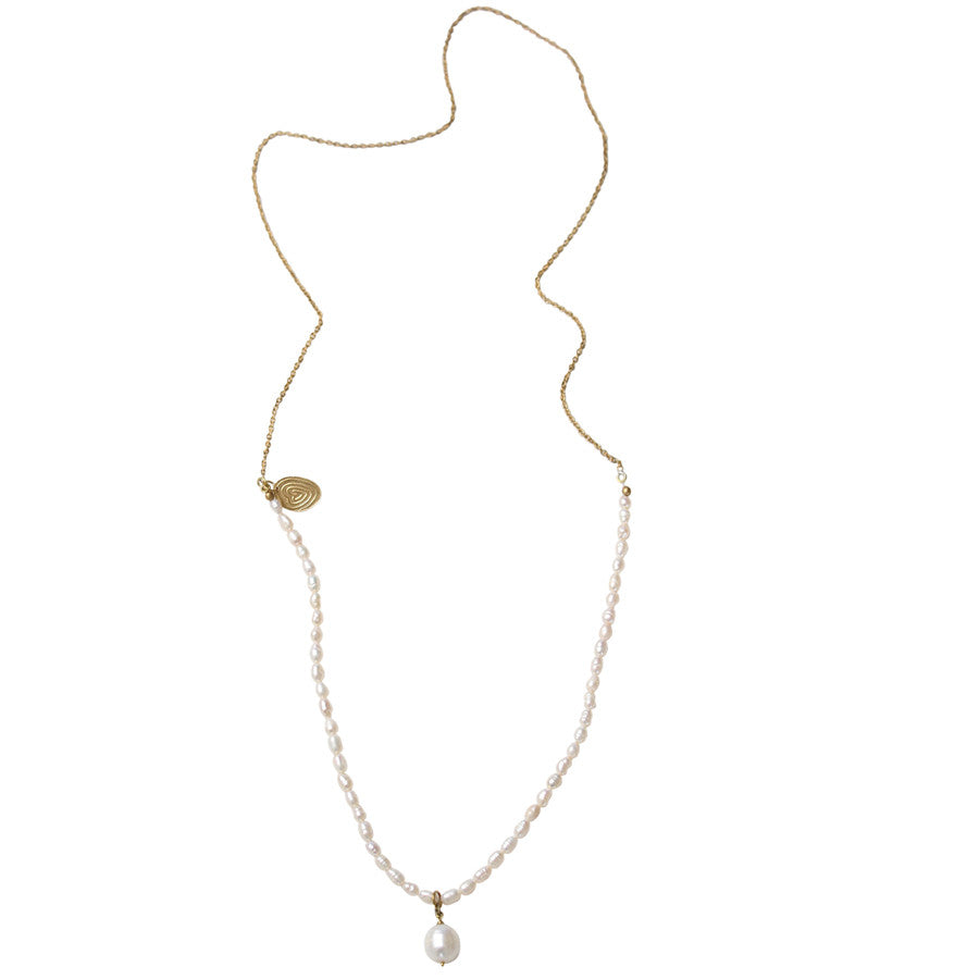 Gem Pearl Necklace