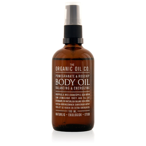 BODY OIL balancing & energizing