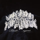 #15419013 Grand Bridal Headpiece Rhinestone, Alloy