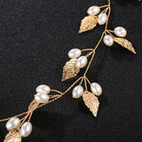 Free Shipping (In Canada) #04418202 Hand Made Imitation Pearls/Alloy Headband
