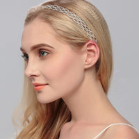 #04418235  Ladies Gorgeous Rhinestone/Alloy Headbands