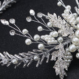 #07418201 The Beautiful Rhinestone, Imitation Pearls, Alloy Hairpiece