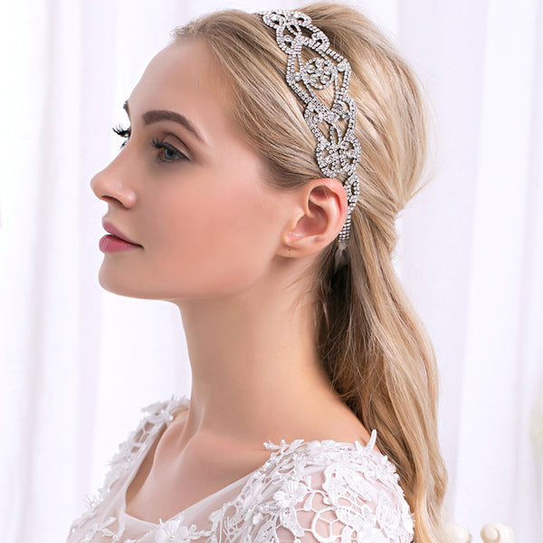 #04418236  Ladies Gorgeous Rhinestone/Alloy Headbands