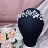 #13419040 Cubic Zirconia  Luxury Headband