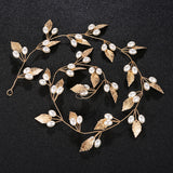 #04418202 Hand Made Imitation Pearls/Alloy Headband