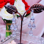 #08539102-4 Cubic Zirconia Earrings