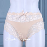#521 Ladies Micro-Fiber /Lace Briefs