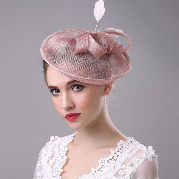 #05948031 Elegant Ladies' Fascinators with Feather