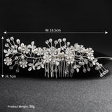 #06448186 Sliver Hair Comb