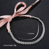 #05418226 Ladies Rhinestone, Alloy Headband