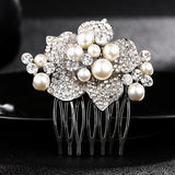 #03418212 Elegant Flower Ladies' Comb
