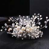 #07449020  Crystal, Rhinestone and Imitation Pearls Combs & Barrettes