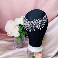 #12419015  Grand Bridal Headpiece Rhinestone, Alloy