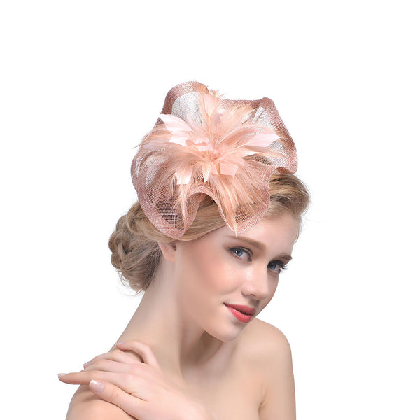 #07948080 Ladies' Fashion Fascinators with Feather