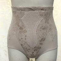 Women's Slimming High-Waist Body Shaper Corset Butt Lift Brief with Lace