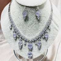 #29522023 Royal Luxury Cubic Zirconia Jewelry Set