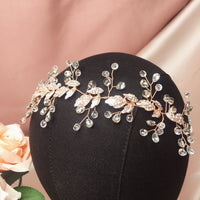 #06449028 Hand Made Crystal, Rhinestone /Alloy Headband