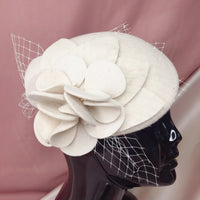 #13949102  Elegant Wool Tea Party Hats