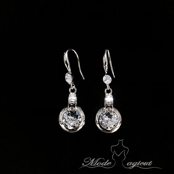 #20741 Gorgeous Zircon Dangles Earring