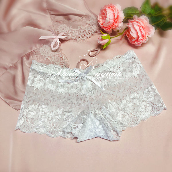 #506 Lace Boyshort Panties