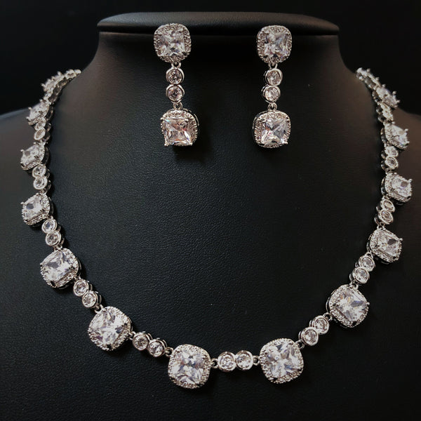 FREE SHIPPING JS1839104 2018 Luxurious CZ Jewelry Set, Wedding necklace set
