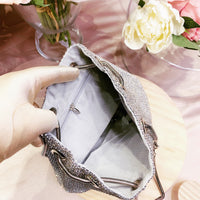 #10818002 Vintage Ladies' Rhinestone Clutches (Golden, Silver)