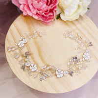 #11418233 Ladies Elegant Alloy Headbands With Pearls, Crystal