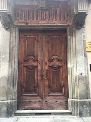 Old Door in Piemonte