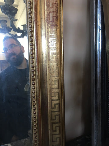 Gilded Louis Philippe Mirror
