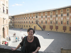 Heather in San Miniato