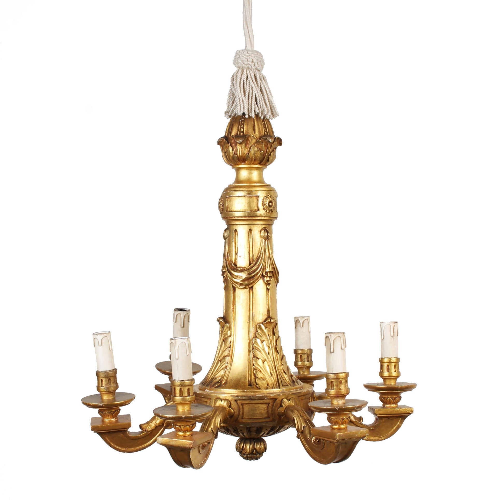 neoclassical lighting. Italian Neoclassical 6-light Giltwood Chandelier Neoclassical Lighting E