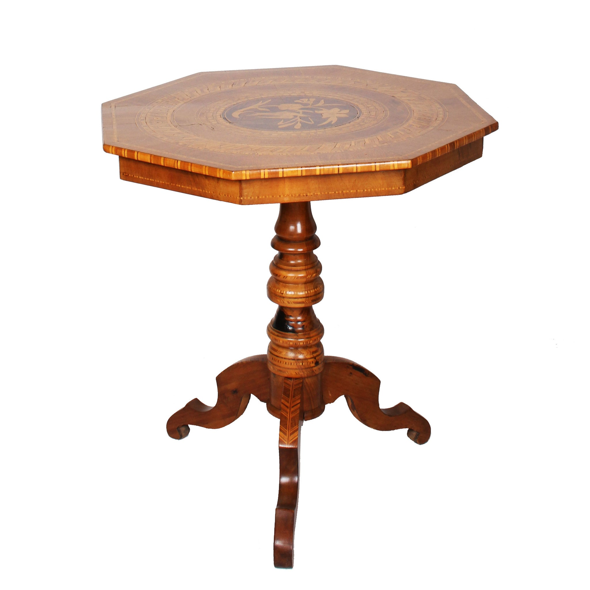 Genial ... Antique Italian Marquetry Table   Fatto A Mano Antiques   5 ...