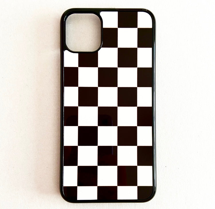 Checkmate Black iPhone Case