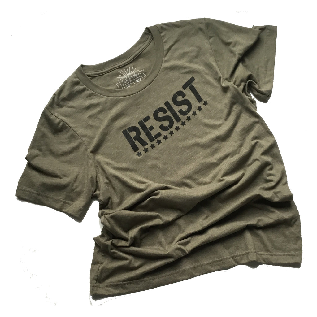 Resist Shirt in Olive