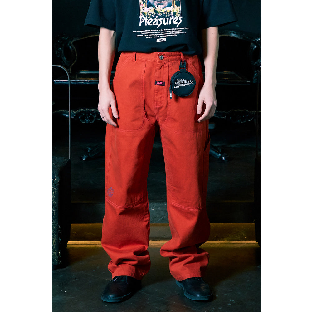 CRUSH CARPENTER DENIM PANTS