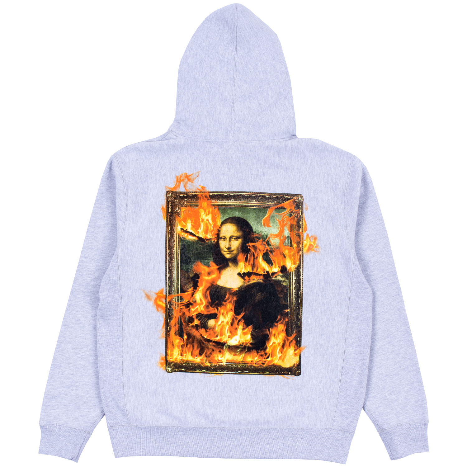 BURN AGAIN EMBROIDERED HOODY