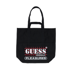GUESS x PLEASURES LOGO TOTE